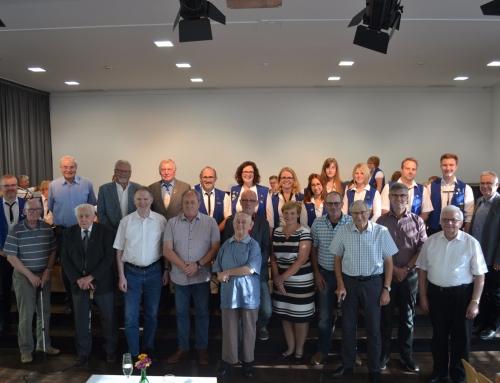 Außerordentliche Mitgliederversammlung zum 95. Geburtstag des Musikvereins